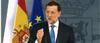 Rajoy no descarta Rescate de España
