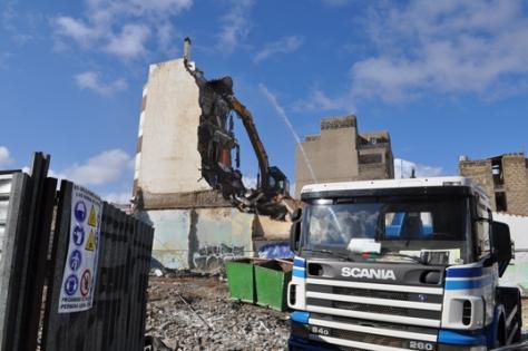 Demolición de una vivienda para crear espacios verdes, Las Palmas de Gran Canaria
