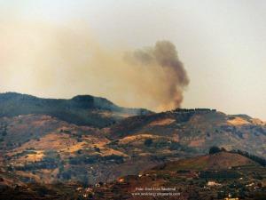 Conato incendio forestal Tejeda, Gran Canaria