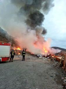 Incendio en El Rincón alarma a los ciudadanos